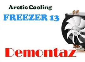 Jak zdemontować chłodzenie Arctic Cooling Freezer 13