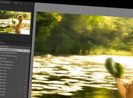 Jak stworzyć ciepły wiosenny efekt na zdjęciu