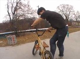 Jak nauczyć się trików na BMX #2 - Fakie