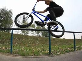 Jak zrobić ovver z grinda na BMX
