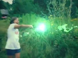 Jak wykonać efekt Avada Kedavra z filmu Harry Potter