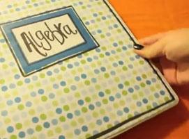 Jak zrobić okładki na zeszyty i segregatory