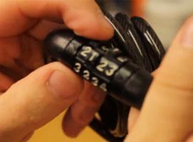 Jak złamać szyfr w zamku rowerowym