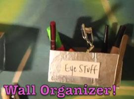 Jak zrobić organizer na kosmetyki do makijażu