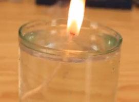Jak zrobić świeczkę która wygląda bardzo nierealnie
