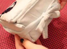 Jak zrobić pudełka z koszulek