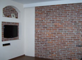 Jak zrobić dekorację na ścianę ze starej cegły