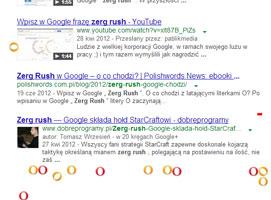 Jak zagrać w mini gierkę Zerg Rush na Google