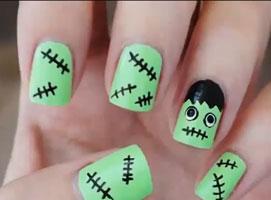 Jak pomalować paznokcie na Halloween