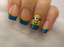 Jak pomalować paznokcie we wzorek Minionki