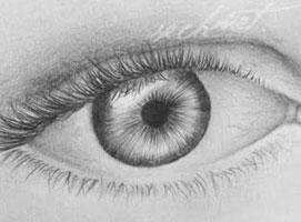 Jak nauczyć się rysować #8 - dwoje oczu