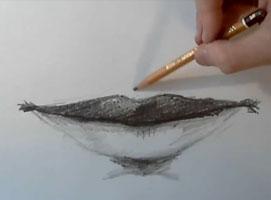 Jak nauczyć się rysować #7 - usta