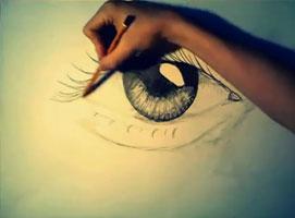 Jak nauczyć się rysować #5 - Oko