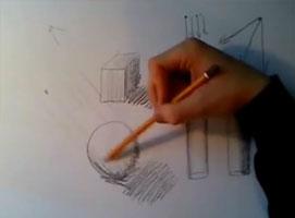 Jak nauczyć się rysować #4 - Światło i Cień