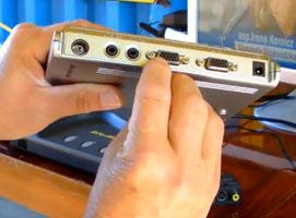 Jak podłączyć monitor do przystawki DVB