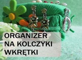 Jak zrobić organizer na kolczyki
