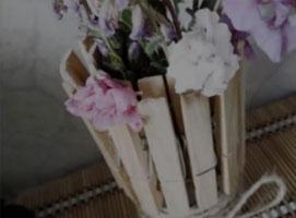Jak zrobić wazon z klamerek