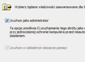 Jak uruchamiać aplikacje z prawami administratora w Windows 7
