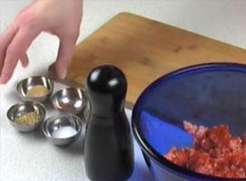 Jak zrobić koreczki z mięsa mielonego