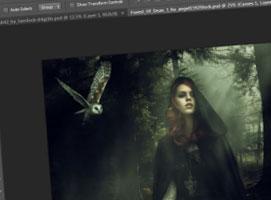 Jak zrobić mglistą manipulację w Photoshop
