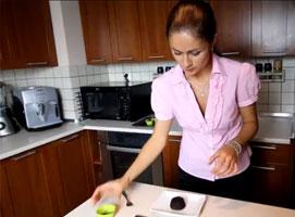 Jak zrobić czekoladowy wulkan