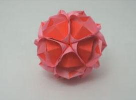 Jak zrobić kwiecistą kulę w stylu kusudama