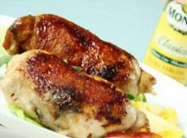 Jak zrobić kurczaka faszerowanego pieczarkami