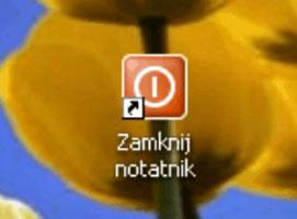 Jak zamykać procesy po kliknięciu ikony- taskkill