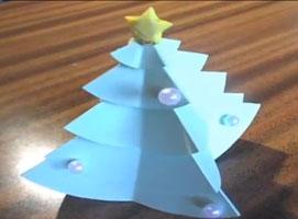 Jak zrobić choinkę z papieru