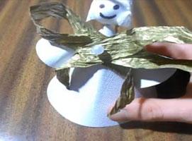 Jak zrobić świątecznego aniołka z papieru w prostej wersji