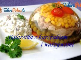 Jak zrobić galaretkę z kurczakiem i warzywami