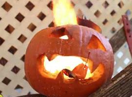 Jak zrobić wybuchową dynię na Halloween