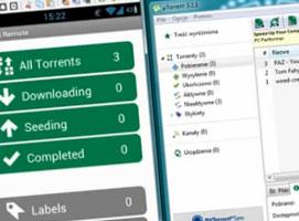 Jak zdalnie kontrolować program uTorrent przez Androida
