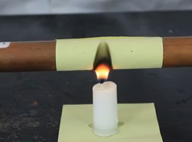 Jak wykonać trik z ogniem i rurką miedzianą