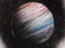 Jak stworzyć planetę za pomocą farb w spraju