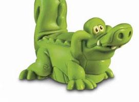 Jak ulepić krokodyla z masy plastycznej