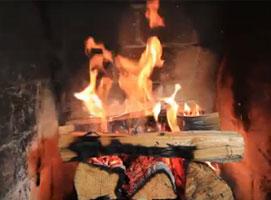 Jak rozpalić ognisko techniką odwróconego ognia