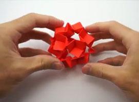 Jak złożyć kulę origami - dekoracyjny remake