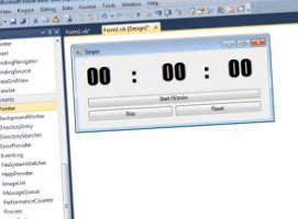 Jak programować w Visual Basic #3 - Stoper