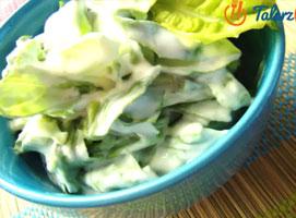 Jak zrobić sałatę ze śmietaną