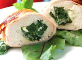 Jak zrobić kieszonki z kurczaka ze szpinakiem i serem