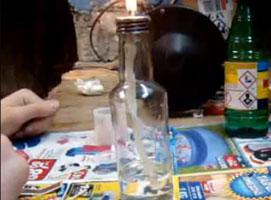 Jak zrobić własnej lampę naftową w domowych warunkach