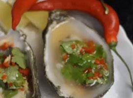 Jak zrobić ostrygi z chili, imbirem i cytryną