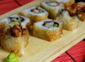 Jak zrobić smażone sushi tempura maki z krewetką