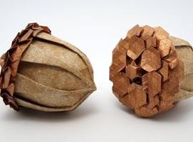 Jak zrobić żołędzia origami w profesjonalny sposób
