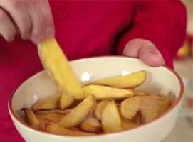 Jak zrobić chrupiące frytki