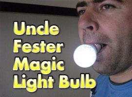 Jak zrobić magiczną żarówkę wujka Festera