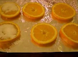Jak zrobić bombki na choinkę z suszonych pomarańczy