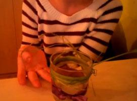 Jak zrobić prosty świecznik ze szklanki