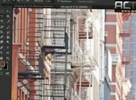 Jak wykonać manipulację w Photoshop - Lew w miejskiej dżungli